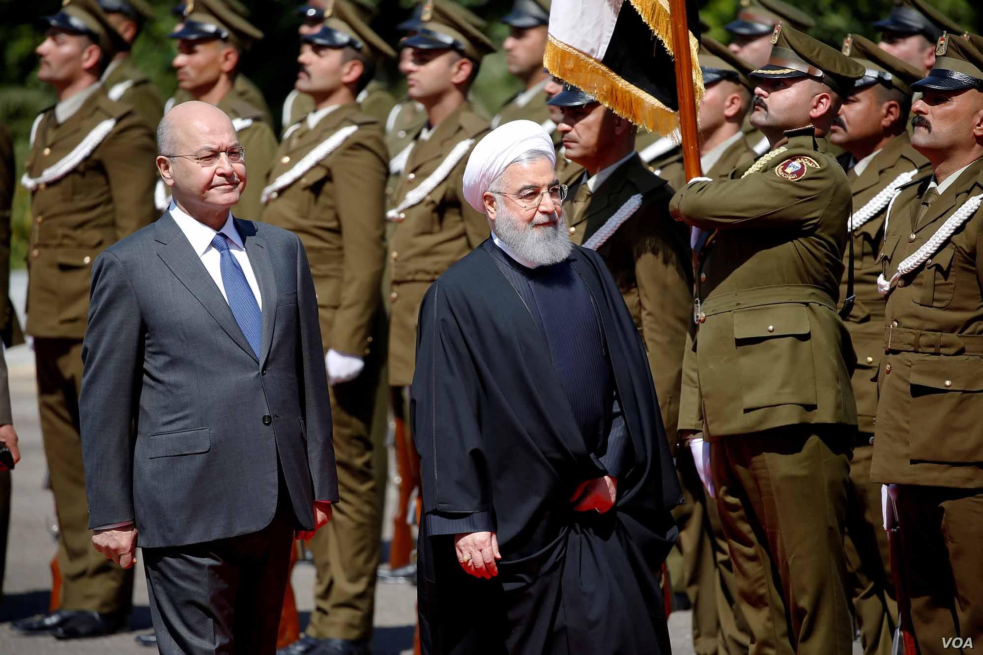 Iraq Torn Between Iran and Saudi Arabia