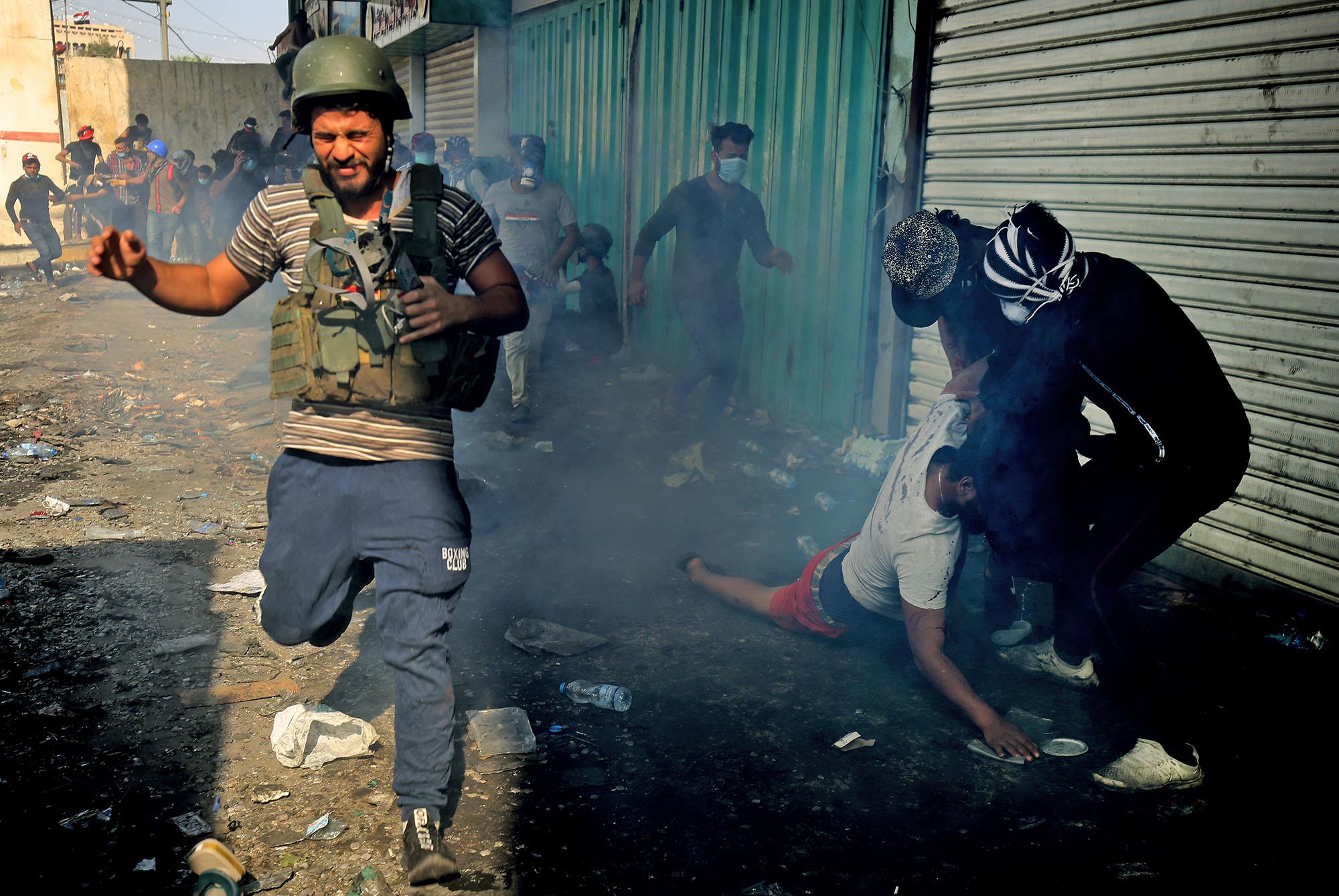 العراق: شباب يتحدى الموت