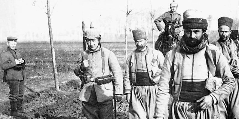 Les Algériens Dans La Première Guerre Mondiale